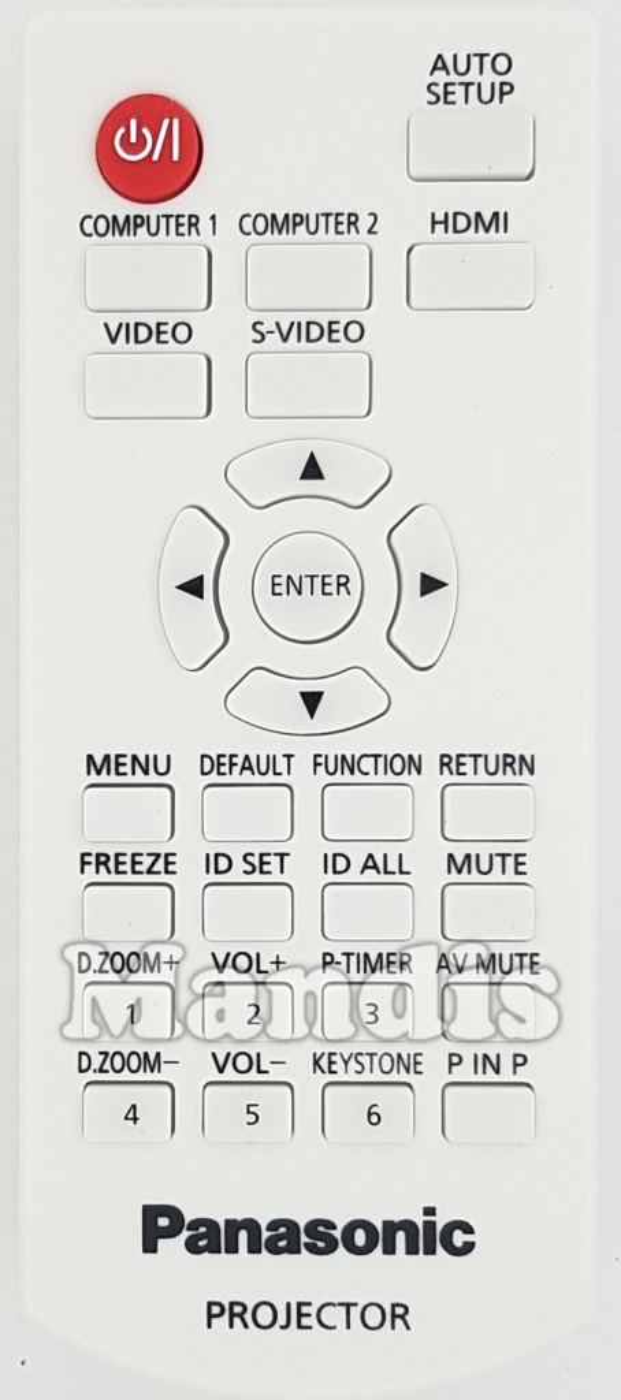 PANASONIC N2QAYA000071 original remote control