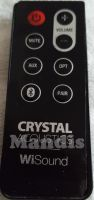 Original remote control CRYSTAL ACOUSTICS WiSound (SRT3)