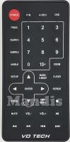 Original remote control VD TECH VDT001