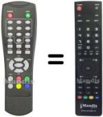 Replacement remote control Mtc DT1050