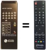 Replacement remote control CMR GALILEO6000