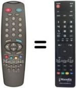 Replacement remote control Seaway SW01TV701S