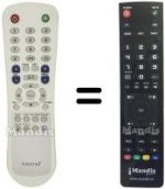 Replacement remote control TECHONE TO20A