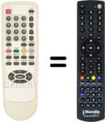 Replacement remote control Skintek SK-LCD TV 20-B (ver. 2)