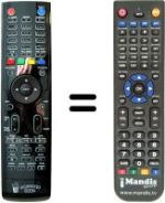 Replacement remote control Popcorn Hour C-200