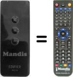 Replacement remote control EDIFIER Edifier-RC10