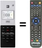 Replacement remote control SFR EVOLUTION