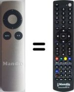 Replacement remote control APPLE APPLE TV