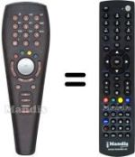 Replacement remote control NEUF TELECOM NEUF TV