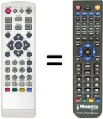 Replacement remote control CALE STCL 220