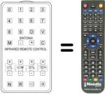 Replacement remote control Pael TVC 22' 99 / 30