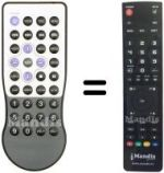 Replacement remote control Argosy HV 356 T