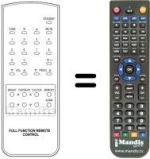 Replacement remote control BLUE STAR LK20