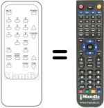 Replacement remote control Sunstar BL2060