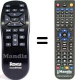 Replacement remote control ROKU SOUNDBRIDGE