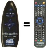 Replacement remote control Bigben Interactive SONY PS 2
