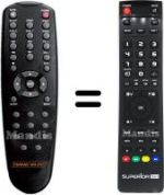 Replacement remote control DANE-ELEC SOSPEAKY