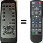 Replacement remote control 3M HL02212
